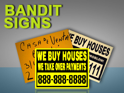 bandit signs